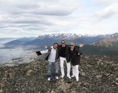 Aterrizaje en los Andes